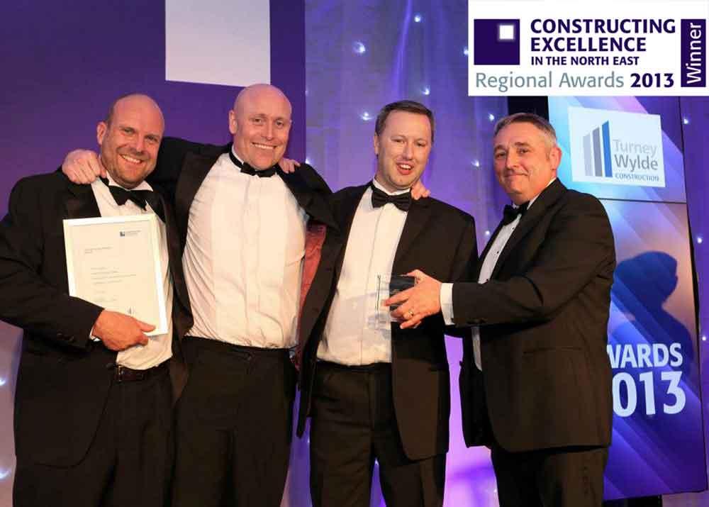 2013 Constructing Excellence Awards Logo-Winner
